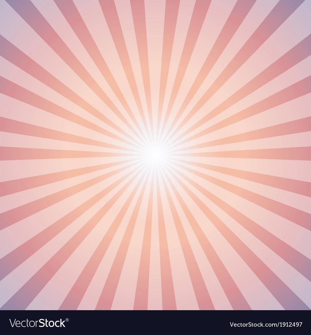 Sunrise sun sunburst pattern vector | Price: 1 Credit (USD $1)