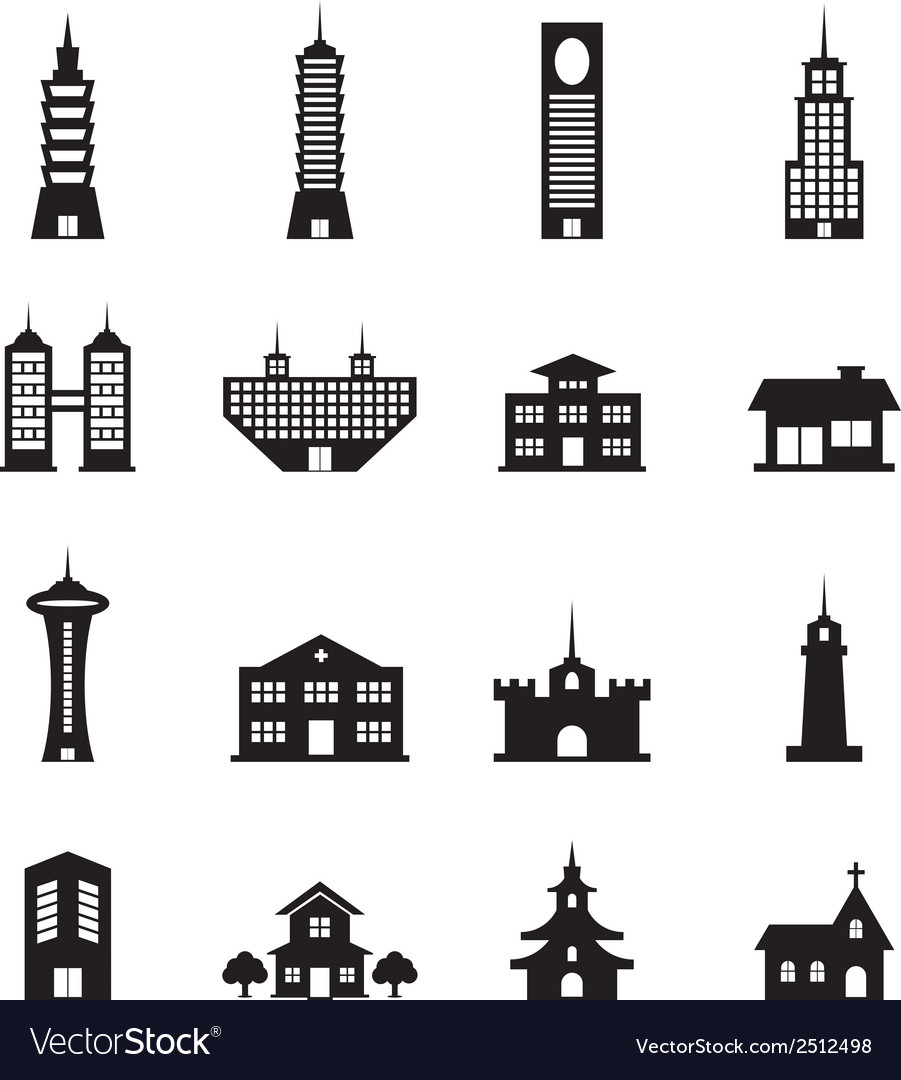 Building set vector | Price: 1 Credit (USD $1)