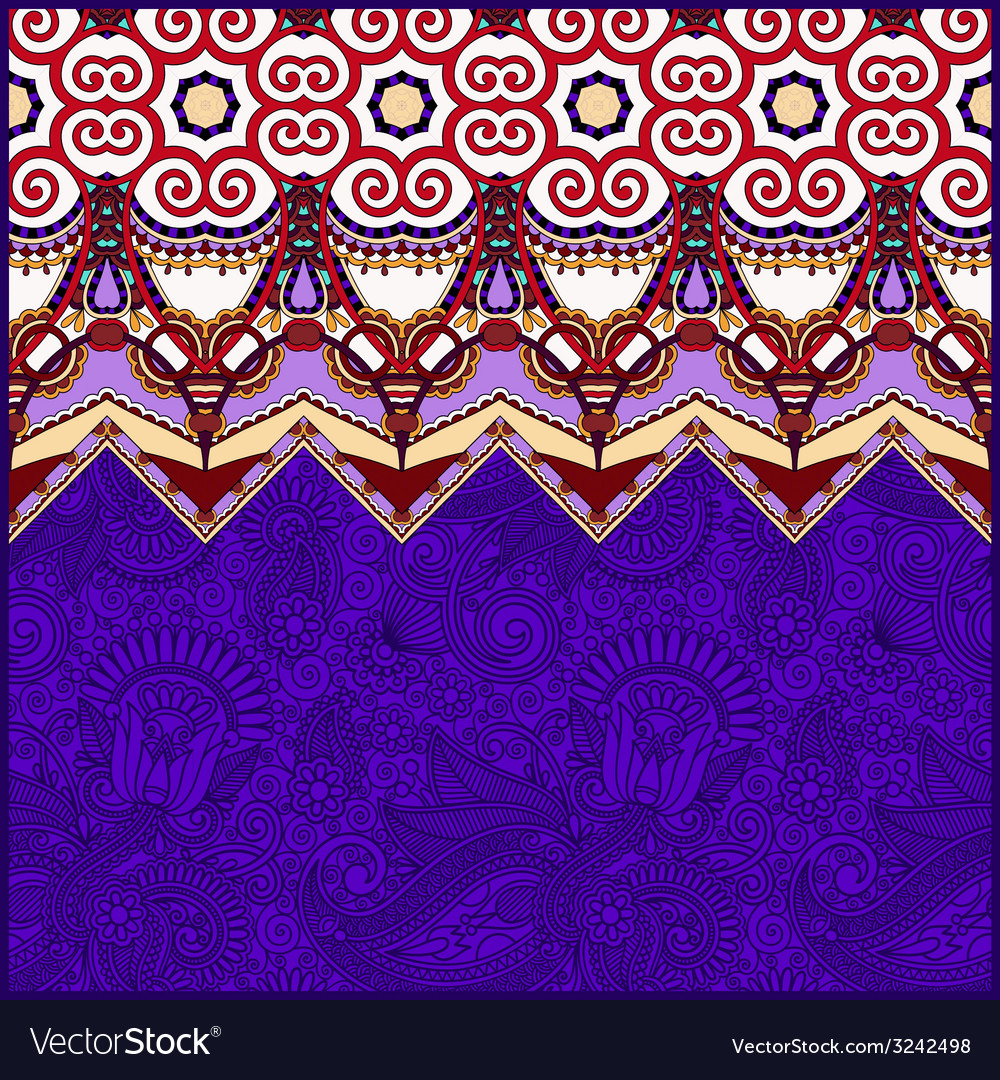 Moroccan violet colour template with place for vector | Price: 1 Credit (USD $1)