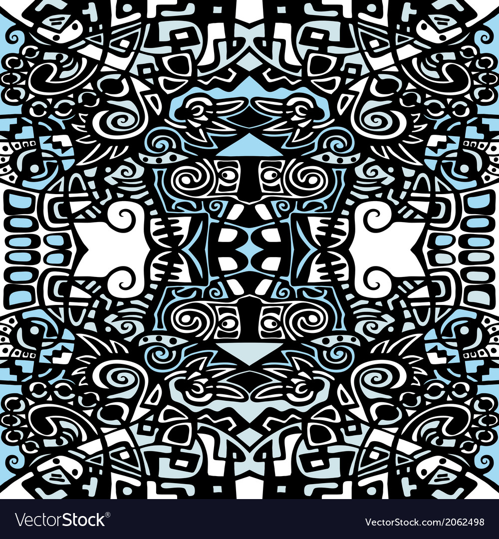 Psychedelic abstraction background symmetric vector | Price: 1 Credit (USD $1)