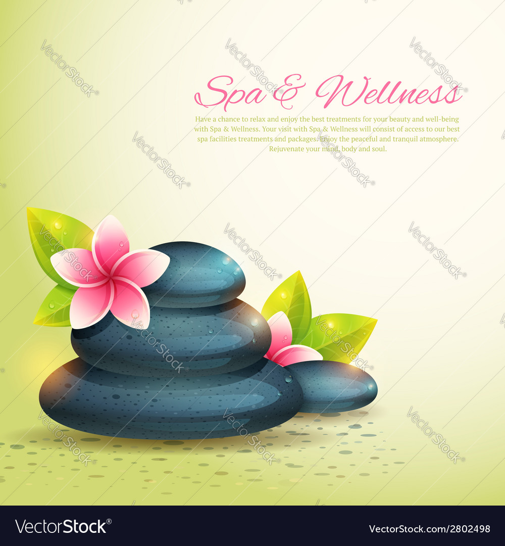 Set of thematical spa cards vector | Price: 1 Credit (USD $1)
