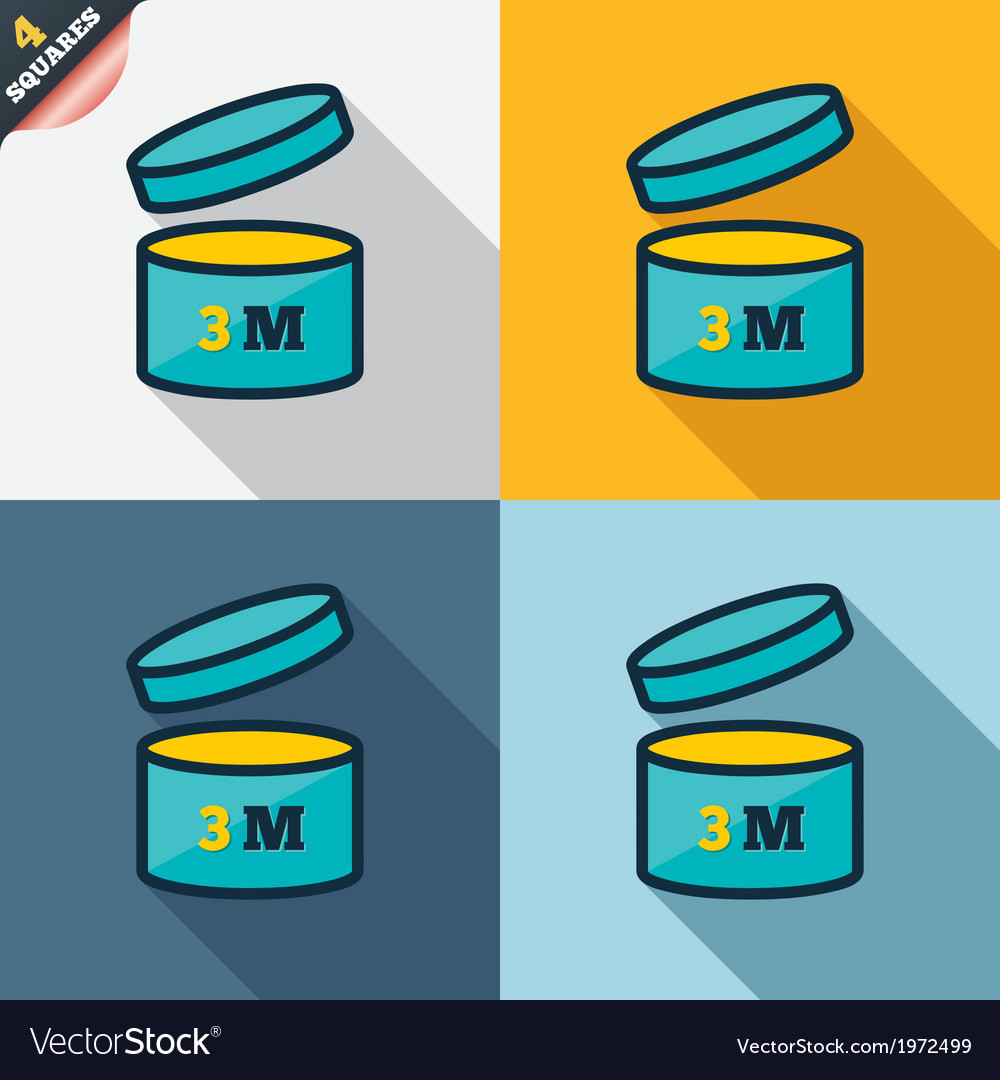 After opening use 3 months sign icon vector | Price: 1 Credit (USD $1)