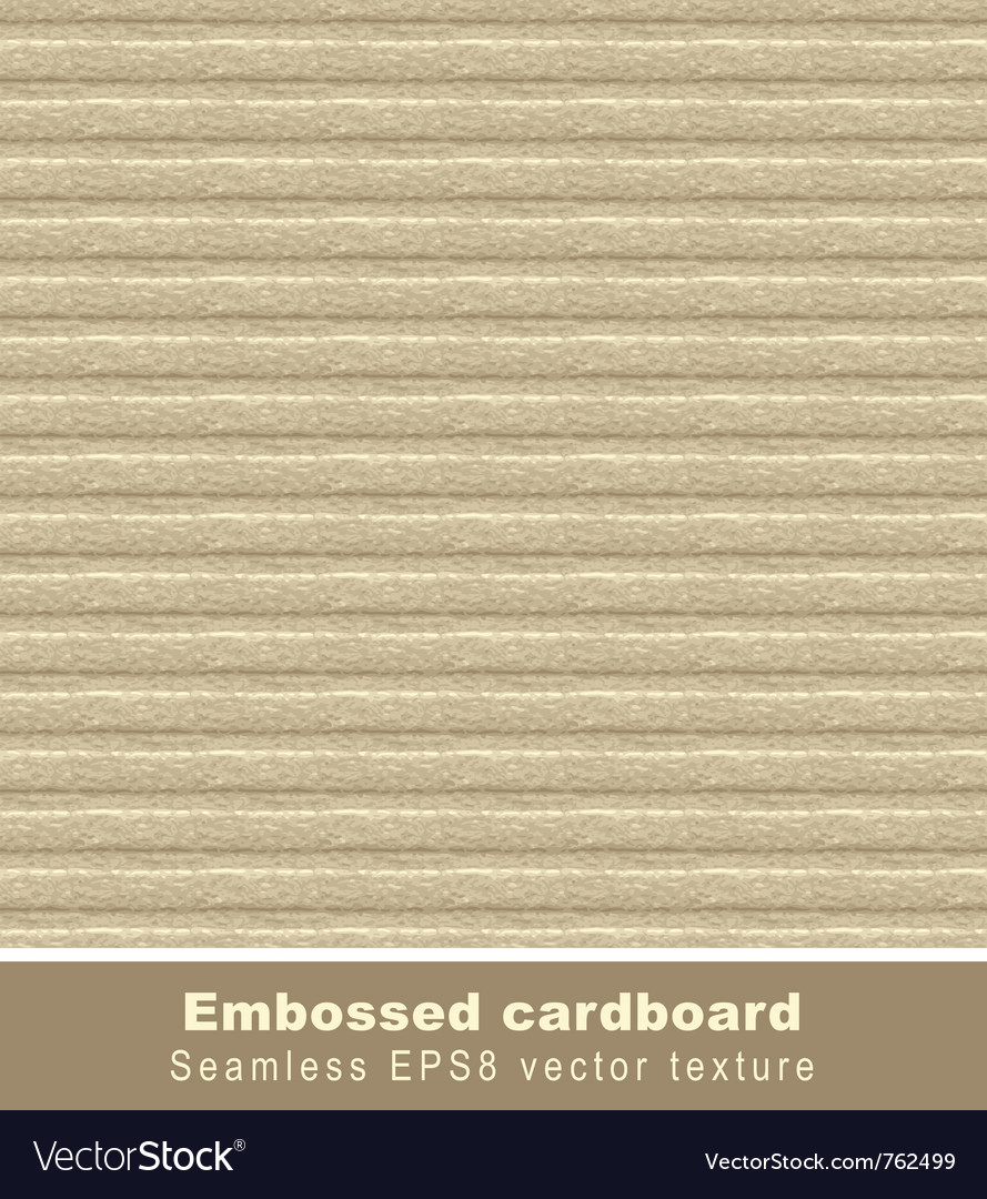 Embossed cardboard seamless vector | Price: 1 Credit (USD $1)