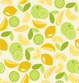 Citrus pattern seamless - vector