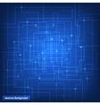 Virtual circuit technology background vector
