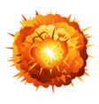 Radial explosion vector