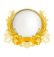 Luxury frame vector