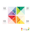 Abstract infographic design minimal style template vector