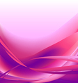 Colorful waves isolated abstract background pink vector