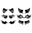 Artistic wings vector