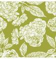 Seamless grunge floral pattern vector