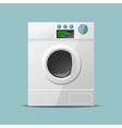Washing machine flat design vector