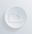 Circle icon with a shadow photo camera vector