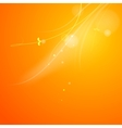 Warm sun light vector