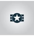 Abstract usa flag design vector