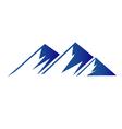 Blue mountains logo vector