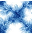 Seamless tender background with blue abstract vector