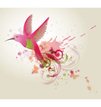 Humming-bird vector