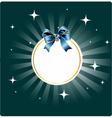 Stars night card vector