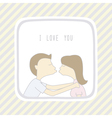 Couple in love1 vector