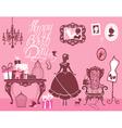 Girl room birthday 380 vector