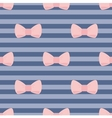 Sweet bow tile wallpaper or decoration background vector