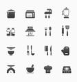 Kitchenware symbol icons vector