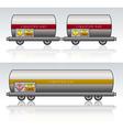 Wagon train danger liquid vector