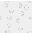 Geometric seamless simple monochrome minimalistic vector
