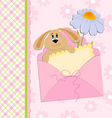 Babies greetings card vector