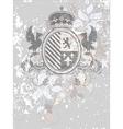 Ornamental heraldic shield vector