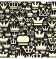 Crown a background vector