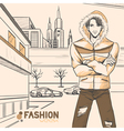 Fashion urban style vector