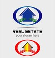 House logo for real estate companies vector