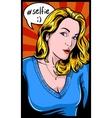 Selfie girl vector