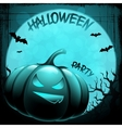 Eps 10 halloween background with moon bats and vector