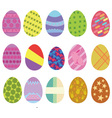 Easter eggs digital clip art vector