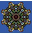 Spiritual indian symbol of lotus flower vector