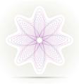 Spirograph ornament background vector