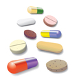 Pill collection vector