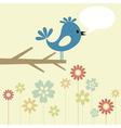 Birdie branch vector