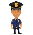 Police officer us vector