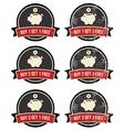 Buy 1 get 1 free retro grunge badges set vector