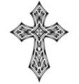 Heraldic cross vector
