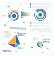 Abstract infographics elements vector