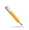 Detailed pencil vector