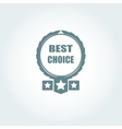 Best choice sign icon special offer symbol vector