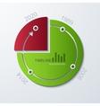 Timeline infographic element design vector