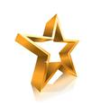 3d star line vector