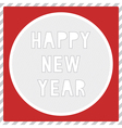 Happy new year greeting card1 vector